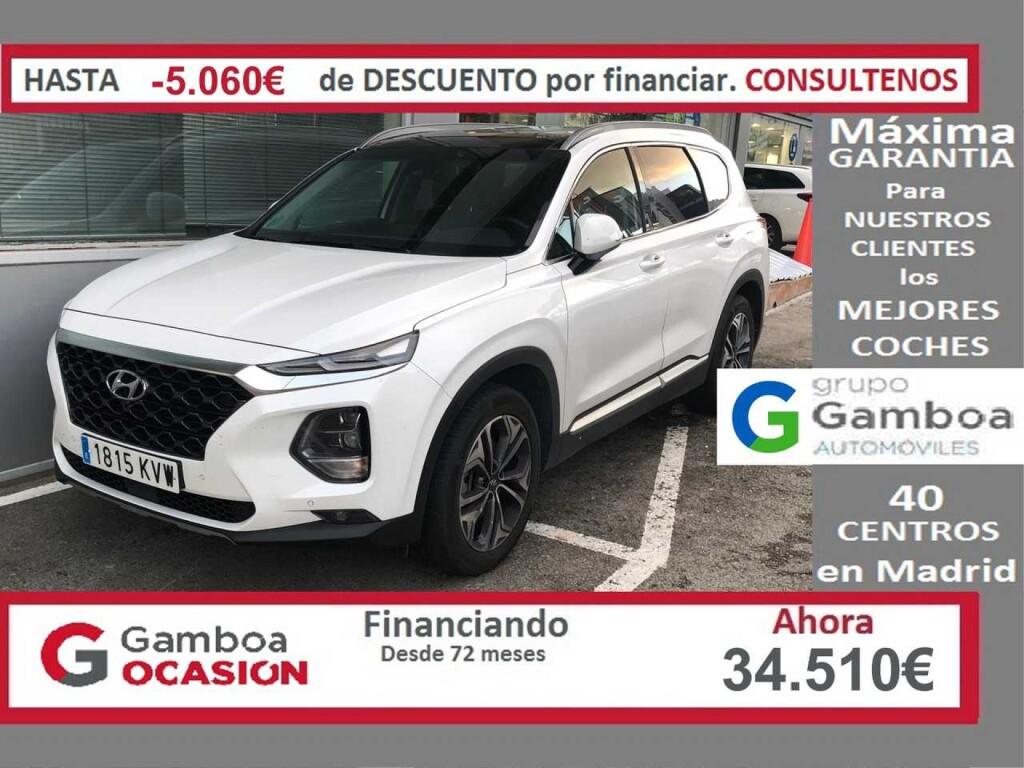 Coche Hyundai Santa Fe 23 850 Km En Leganes Gamboa Ocasion